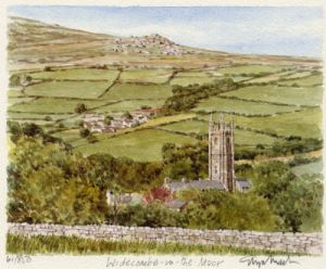 Widecombe-in-the-Moor by Glyn Martin
