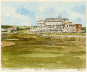 Epsom Racecourse by Philip Martin