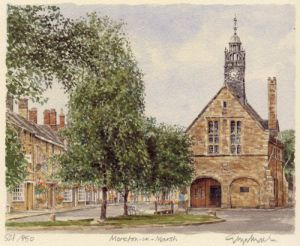 Moreton-in-Marsh by Glyn Martin
