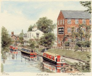 Audlem Mill by Glyn Martin
