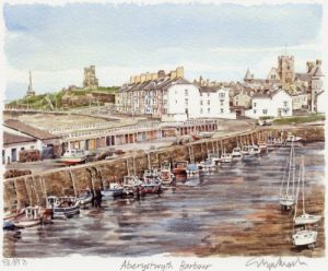 Aberystwyth - Harbour by Glyn Martin