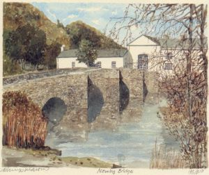 Newby Bridge by Philip Martin
