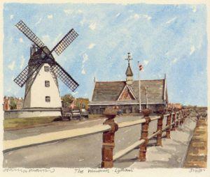 Lytham - Windmill by Philip Martin
