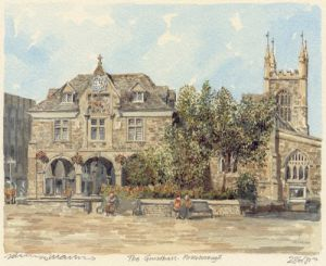 Peterborough - Guildhall by Philip Martin