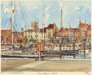 Hull - Marina by Philip Martin