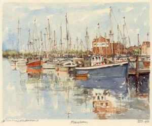 Fareham creek by Philip Martin