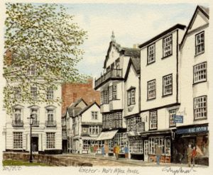 Exeter - Mol's Coffee House by Glyn Martin