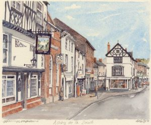 Ashby de la Zouch by Philip Martin