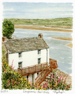 Laugharne - Boat House by Glyn Martin