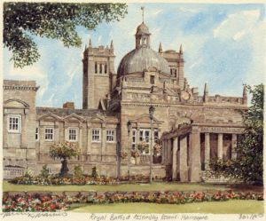 Harrogate - Royal Baths by Philip Martin