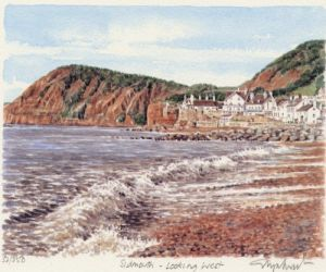 Sidmouth (2) - looking West by Glyn Martin