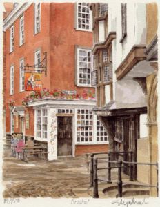 Bristol - Medieval houses by Glyn Martin