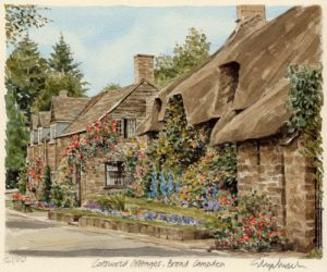 Cotswold Cott - Broad Campden by Glyn Martin