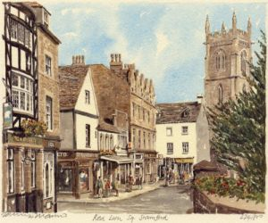 Stamford - Red Lion Square by Philip Martin