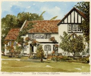 Cobham - 'The Cricketers' by Philip Martin