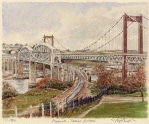 Plymouth - Tamar Bridges by Glyn Martin
