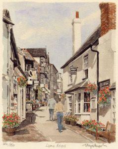 Lyme Regis by Glyn Martin