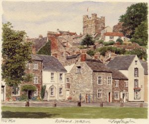 Richmond - Castle by Glyn Martin