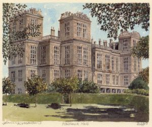 Hardwick Hall by Philip Martin