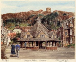 Dunster - Yarn Market by Glyn Martin