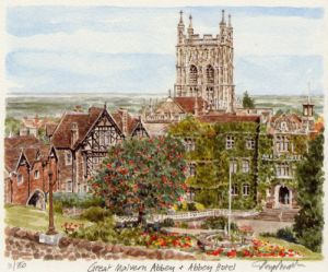 Great Malvern - Abbey by Glyn Martin