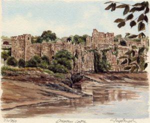 Chepstow Castle by Glyn Martin