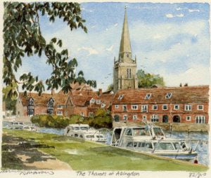 Abingdon - The Thames by Philip Martin
