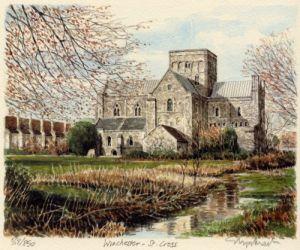 Winchester - St. Cross by Glyn Martin