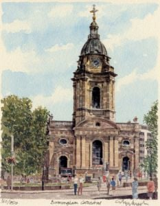 Birmingham - Cathedral by Glyn Martin