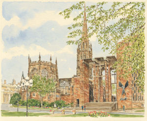 Coventry - Cathedrals by Glyn Martin