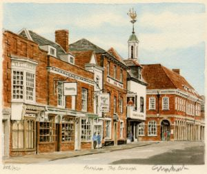 Farnham - Borough by Glyn Martin