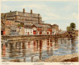Carmarthen - River Towy by Glyn Martin