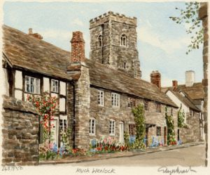 Much Wenlock - Cottages by Glyn Martin