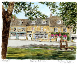 Stow on the Wold (2) by Glyn Martin