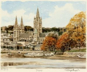 Truro - River by Glyn Martin