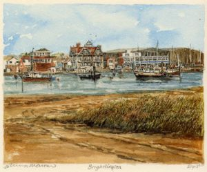 Brightlingsea by Philip Martin