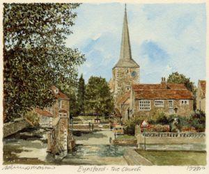 Eynsford - the Church by Philip Martin
