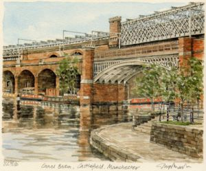 Manchester - Can.Bas.Castlefield by Glyn Martin