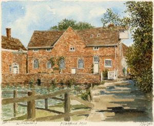 Flatford Mill by Philip Martin