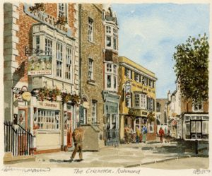 Richmond - The 'Cricketers' by Philip Martin