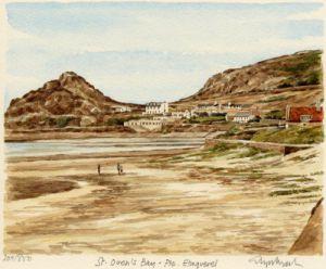 St. Ouen's Bay by Glyn Martin