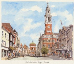 Colchester - High Street by Philip Martin