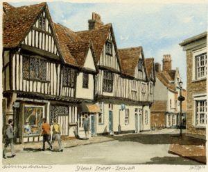 Ipswich - Silent St by Philip Martin