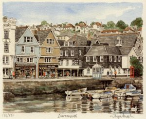 Dartmouth - Inner Harbour by Glyn Martin