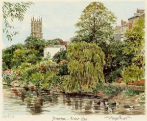 Tiverton - River Exe by Glyn Martin