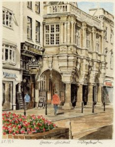 Exeter - Guildhall by Glyn Martin