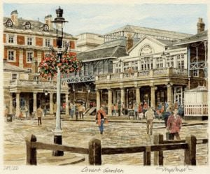 Covent Garden - general view by Glyn Martin