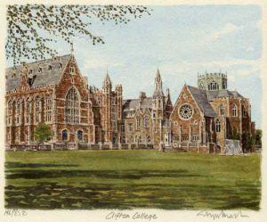 Bristol - Clifton College by Glyn Martin