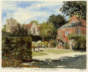 Caversham - St. Peter's Ch by Philip Martin