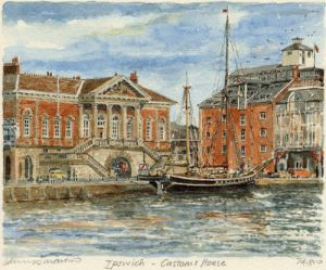 Ipswich - Customs House by Philip Martin